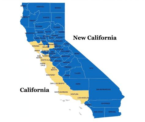 New California Detox by New California Map