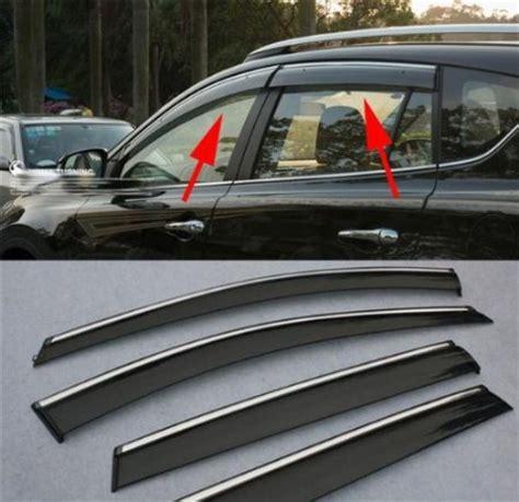 car parts hatch vent wind deflector visor sun rain guards