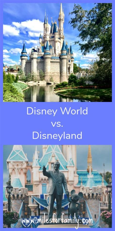 the better disney disney world vs disney land smackdown disney world vs disneyland which one is better miles