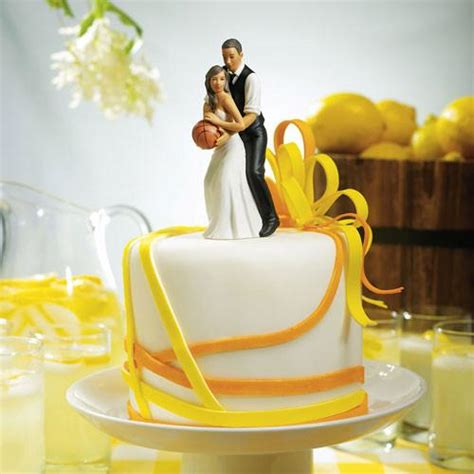 basketball and groom cake topper cake weddings favors and custom gifts