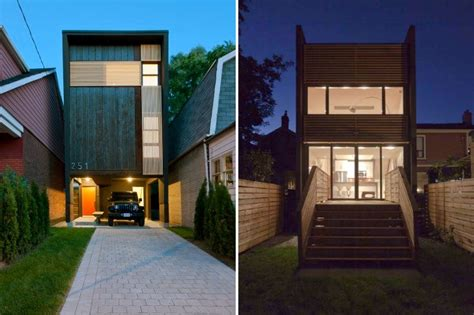 house design for small space toronto s shaft house maximizes space daylight on a snug