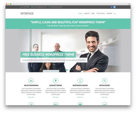 business site template free premium business theme v3 best themes