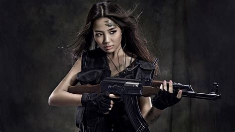 wallpaper girl and gun 97 girls guns hd wallpapers background images