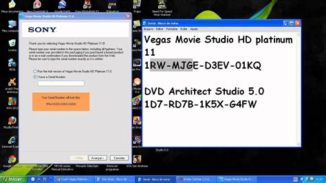 Como Baixar Instalar E Crackear O Vegas Movie Studio Hd Platinum 11 0 Youtube Sony Studio Platinum 13 Templates
