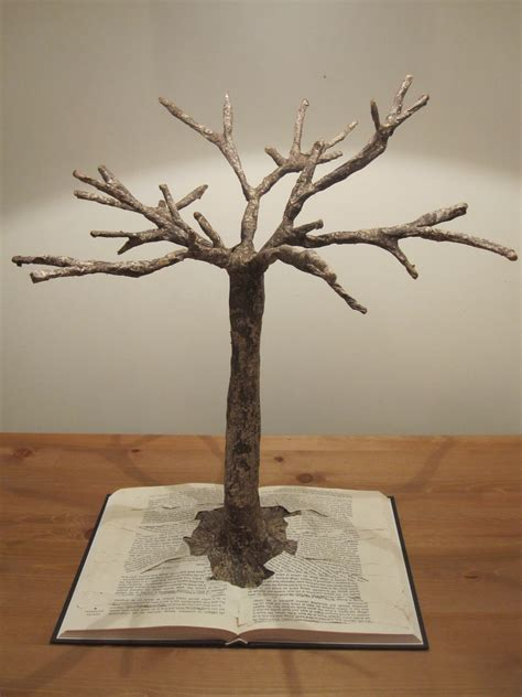 How To Make Model Trees From Paper - jewellery holder thatpearlgirl