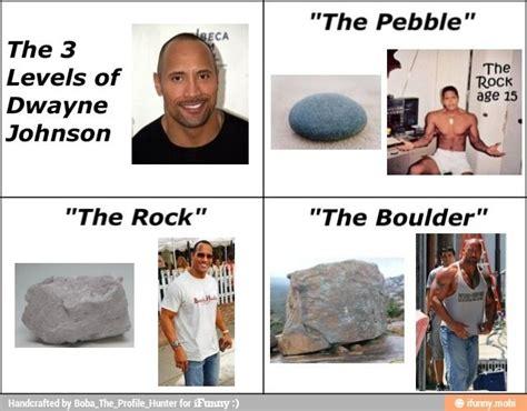 dwayne johnson the rock boulder pebble rock boulder funnies pinterest rock johnson