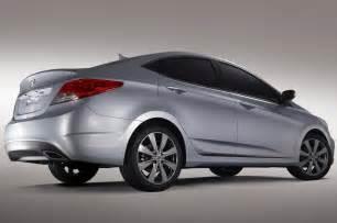 Hyundai Press Hyundai Accent Rb Concept Car Previews Us Market Accent