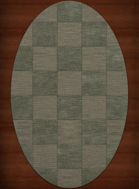 Checked Rug by Dalyn Checked Green Checkered Grid Wool Hooked Transitional Dv15 Area Rug