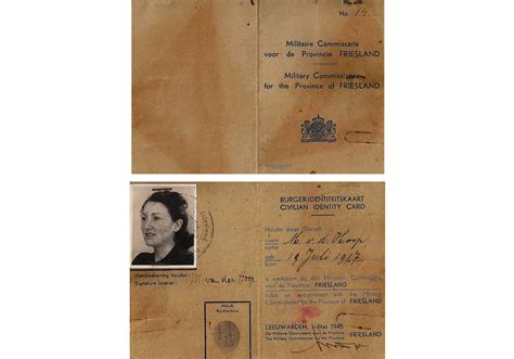 German Identity Card Template by Holocaust Archives Page 5 Of 7 Our Passports