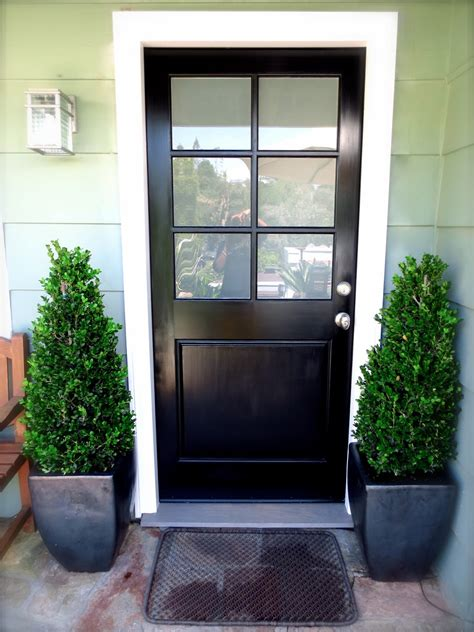 Oak Interior Doors Home Depot simple front door design with single red color and