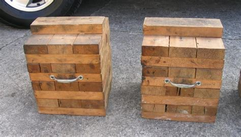 Timber Cribbing by Screws Or Nails For 2x4 Pyramid Cribbing Woodworking