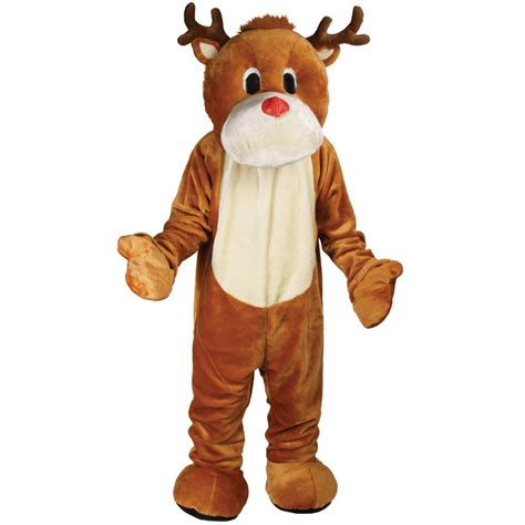 reindeer costume rudolf reindeer mascot fancy dress costume