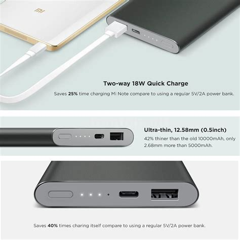 Powerbank Slim Xiaomi 28000 Mah Power Bank Slim Tipis Xiao Mi Xq5w original xiaomi mi powerbank pro 10000mah 18w slim faster charge for phones h8t4 ebay