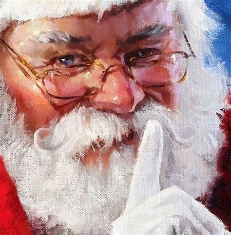 painting santa claus duchess trading new painting annual santa painting