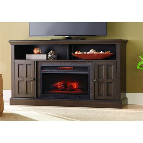 60 Media Fireplace by Home Decorators Collection Elmhurst 60 In Media Console