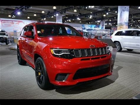 2019 jeep grand cherokee trackhawk 707hp youtube