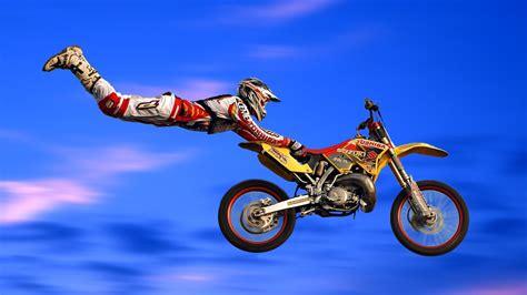 Mobile Motocross Motorrad by Freestyle Motocross Motorrad Rennsport Wallpaper