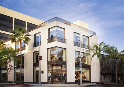 s day rodeo drive a look inside burberry s new flagship on rodeo drive