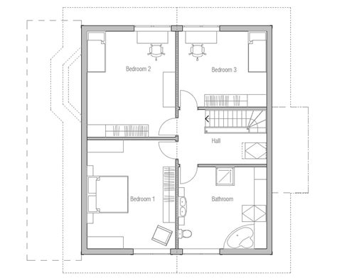 home floor plans small small house plan ch38 detailed building model and floor