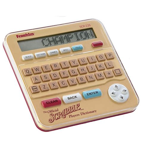electronic scrabble dictionary the official scrabble electronic dictionary hammacher