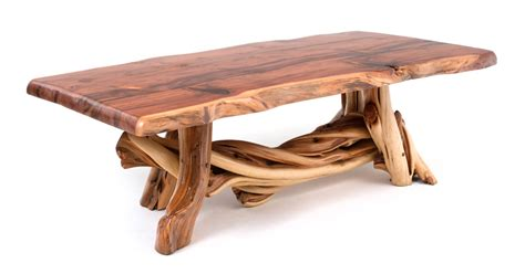 log dining table rustic furniture cabin dining table