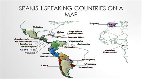 the spanish speaking world a spanish speaking countries ppt video online download