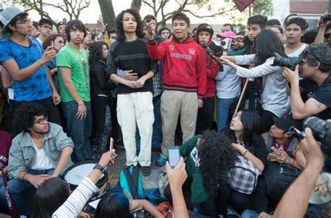 imagenes libres estudiantes la jornada salen libres los tres estudiantes detenidos el