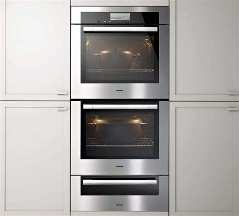Oven Miele miele h6780bp2 30 inch electric wall oven with 4 6 cu ft capacity ovens m touch