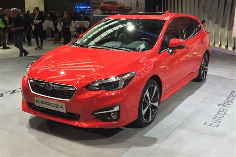 New Subaru 2018 by New 2018 Subaru Impreza Revealed In European Spec At
