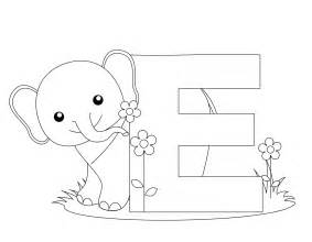 Galerry alphabet coloring printables free