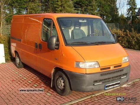 peugeot van 2000 2000 citroen peugeot boxer 230l car photo and specs