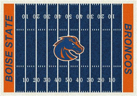 Rugs Boise by Boise State Broncos Area Rug Ncaa Broncos Area Rugs