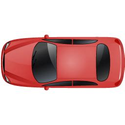 car top red icon transporter multiview iconset icons land