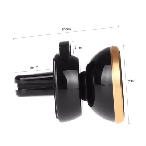 New 360 Degree Magnetic Car Air Vent Mount Holder 151005 universal magnetic air vent car mount holder stand for
