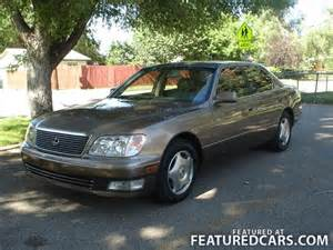 1998 Lexus Ls 1998 Lexus Ls 400 Used Cars For Sale Featuredcars
