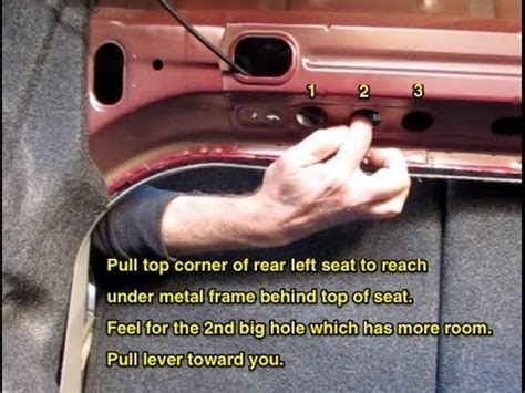2006 Toyota Corolla Trunk Latch 2011 Toyota Corolla Trunk Release How To By