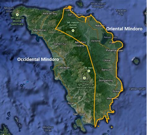 san jose island map mindoro and leisure map of mindoro
