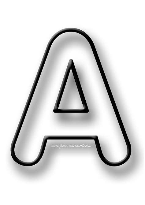 lettere aq doc lettre alphabet a imprimer grand format
