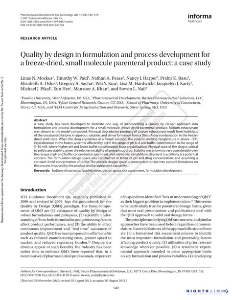 design of dosage form pdf application of quality by design pdf download available