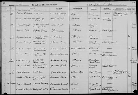 Ottawa County Marriage Records Genealogy Data Page 31 Notes Pages