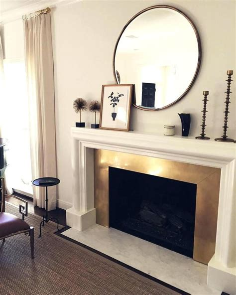 ideas    fireplace mirrors  fireplaces