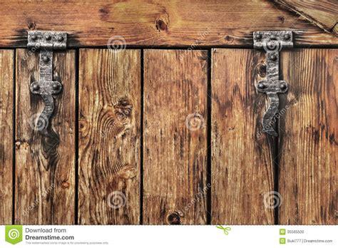 rustic barn door hinges antique rustic pine wood barn door detail stock photo