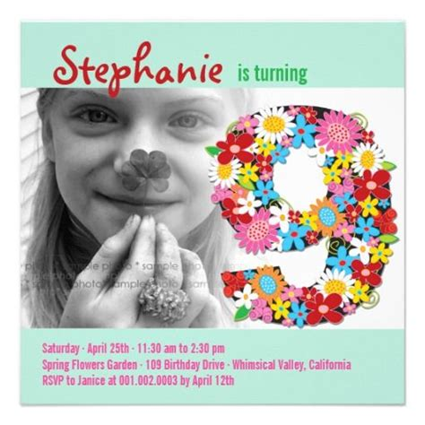 invitation wordings for 9th birthday 22 best images about 9th birthday invitations on