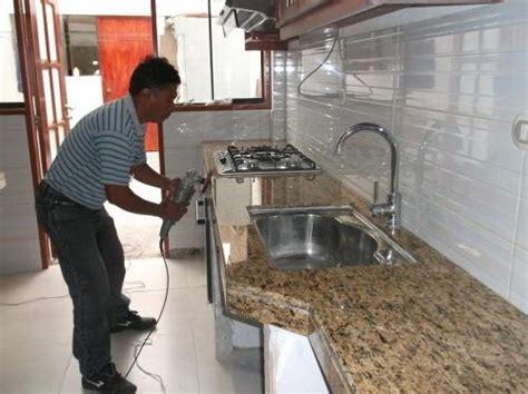 encimera baño madera rustica fotos de marmolero instalacion tableros granito marmol