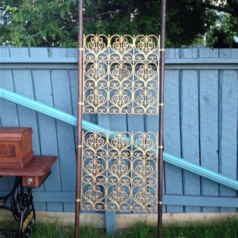 Floor To Ceiling Tension Rod Room Divider Tension Pole Room Divider From Edmonton Mid Century Furniture Pi