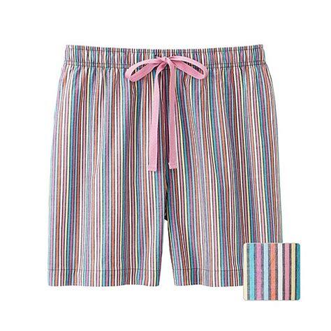 Uniqlo Relaco 1 uniqlo relaco shorts stripe in blue navy lyst