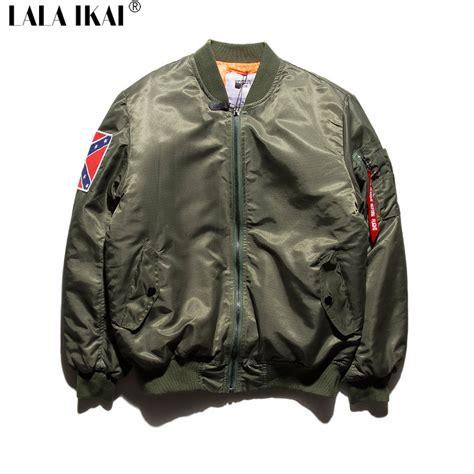 Jaket Bomber Bgsr Green Army appealing price hip army green bomber jacket jacket hop chic yeezus bomber
