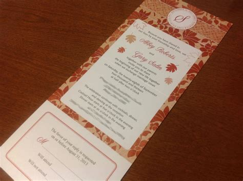 fold and send wedding invitations wedding invitations with attached rsvp seal by