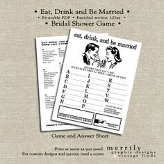 bridal shower discovery game free printable bridal shower discovery game wedding ideas pinterest