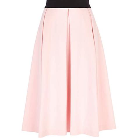 light pink pleated skirt light pink box pleat midi skirt endource